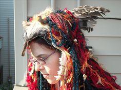 FaerieWorlds Headdress 3 by dreadlocksshmeadlocks, via Flickr