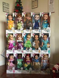 Disney-Animators-Collection-Doll-Lot-of-15-Frozen-Elsa-Anna-Ariel-Aurora ebay 470