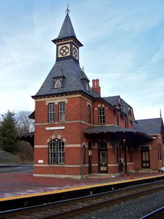Point of Rocks Maryland Train Station by Piedmont Fossil, via Flickr