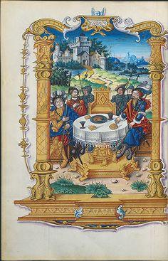 Chants royaux de l'Immaculée Conception de Notre-Dame de Rouen  La Table ronde en honneur triumphante