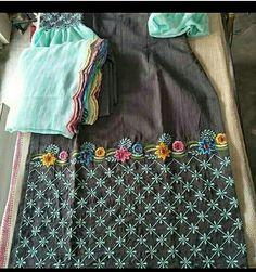 Designer Punjabi Suits Patiala, Punjabi Suits Designer Boutique, Boutique Suits, Indian Designer Suits, Embroidery Suits Punjabi, Embroidery On Kurtis, Kurti Embroidery Design, Hand Embroidery Dress, Ladies Suits Indian