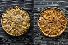 Tarte aux pommes et noix caramélisées {recette}Tangerine Zest