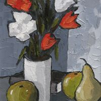 Flowers and Fruit by David Barnes