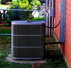When covering anything like this you need to make your air conditioner fit in with the theme of the garden in a way that isn't detrimental to the machine