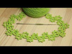 Вязание крючком - простой маленький ЦВЕТОЧЕК с пышными столбиками - crochet small flower - YouTube