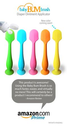 """Amazon review: """"I saw this on Pinterest and immediately thought """"that's so silly- why not just use your fingers for free?!"""" The reviews were great so I figured why not try it- I could always return it!  We haven't used our fingers since.  We use it every night and I'm pretty sure my husband would refuse to use the cream without now that he's spoiled. Definitely get this if you're a frequent diaper cream applier!"""""""