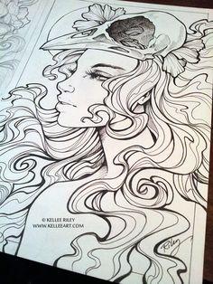 Among Us - inks by KelleeArt on DeviantArt