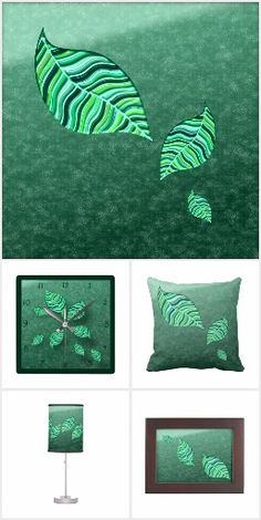 GREEN LEAF ABSTRACT 1 gift ideas