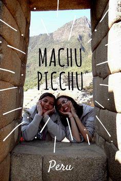 Machu Picchu, um dos sítios arqueológicos mais importantes e uma das sete maravilhas do mundo.