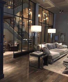 Loft Apartment Decorating, Design Apartment, Interior Decorating, Decorating Ideas, Apartment Living, Apartment Entryway, Apartment Interior, Interior Paint, Yellow Interior