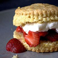 Strawberry Shortcakes by Smitten Kitchen