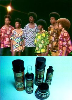 1971 Afro Sheen TV commercial...I have this in my soul train collection, & it is my favorite commercial EVER!