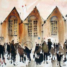 Sue Howells10 Watercolor paintings by Sue Howells