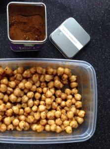 Geroosterde kikkererwten: gezonde snack! – Anja's Food & Blog