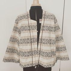 Agenda de una MAMI CRAFTER: Día 7 Cose conmigo chaqueta caja burda: cantos delanteros, escote y tapeta