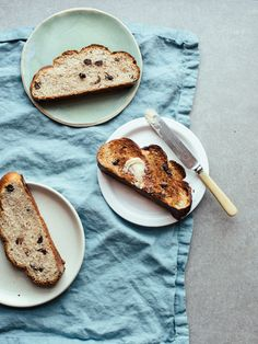 I've been a bit bread-obsessed lately – well, I always am, just more so at the moment. I find myself opting for lightly-sweetened bready goods over dessert come winter. Popping a slice of challah into the toaster and catching it a few minutes later at that caramelised but aaaaaalmost burnt stage, and slathering it in...Read More »