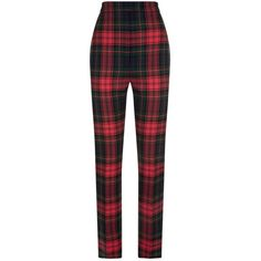 Burberry Tartan Trousers (10.800.545 IDR) ❤ liked on Polyvore featuring pants, capris, bottoms, trousers, jeans, burberry, bear pants, wool pants, plaid pants and high waisted plaid pants