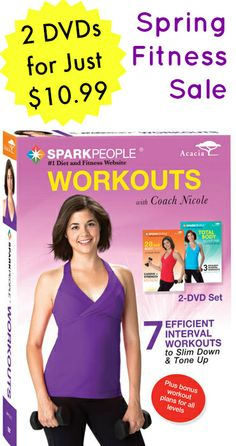 Save Up to 56% on SparkPeople Workout DVDs for a Limited Time via @SparkPeople