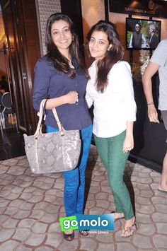 Kajal Aggarwal, Nisha Aggarwal at Tarun Tahilani's Couture Exposition 2013 in Mumbai. Surprised to know, Kajal is one of the top 10 celebs searched online in India!