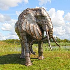 Buy an elephant statue, elephant head wall mount, baby elephant sculpture, small elephant statue or even a life size elephant sculpture. We have all sorts of elephant garden sculptures to suit your elephant decor needs. Elephant Life, Small Elephant, Elephant Head, Giraffe, Elephant Sculpture, Metal Art Sculpture, Garden Sculpture, Grand Designs Live, Life Size Statues