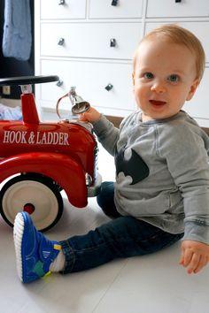 REVIEW: Shoesme BABY-PROOF® Smart eerste stapschoentjes gespot op baby-label.com.  babyschoentjes shoesme, hippe babyschoenten, stoere baby jongensschoentjes