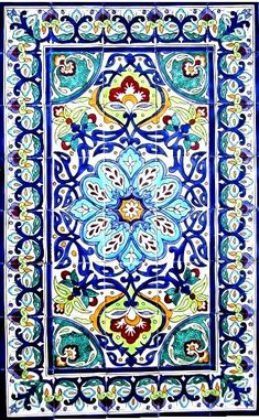 DECORATIVE CERAMIC TILES: mosaic panel hand painted kitchen bathroom backsplash patio home wall mural art flooring accent tile 48in x 30in