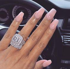 New Nails Design Vino Pink 62 Ideas New Nails Design Vino Pink 62 Ideas Big Wedding Rings, Beautiful Wedding Rings, Diamond Wedding Bands, Dream Wedding, Diamond Bands, New Nail Designs, Nail Designs Spring, Ring Designs, Beautiful Engagement Rings