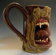 Zombeast Mug- SOLD by thebigduluth.deviantart.com on @deviantART