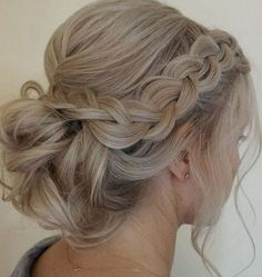 39 Chic Wedding Hair Updos for Elegant Brides | Wedding Decor Ideas