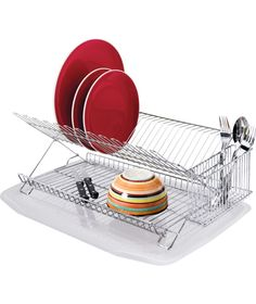 Sabatier Dish Rack Captivating Sabatier Compact Dish Drying Rack Black  Dish Drying Racks Design Decoration