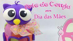 DIY - Pote de Coruja - Dia das Mães + Parceria Nova - Sah Passa o passo