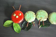 Raupe Nimmersatt Kuchen - Kinderspiele-Welt.de