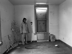 "LaToya Ruby Frazier, ""Self Portrait In Gramps' Pajamas"", 2009"