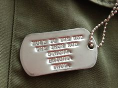 LDS/ Missionary Military Dog Tags