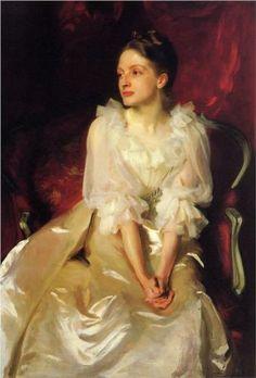 Miss Helen Duinham - John Singer Sargent. Portrait. Realism, 1892.