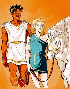 Honestly if these two were smelly border hobos instead of future kings they probably wouldn't have had to stumble head over arse for a happy endgame. But since they got it anyway, here's Disney Princess Laurent complete with a pretty wedding gift. Game Of Thrones Story, Achilles And Patroclus, Character Art, Character Design, Captive Prince, Fanart, Couple Art, Greek Mythology, Art Blog