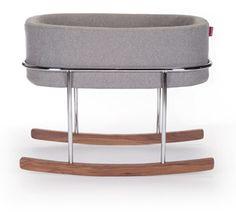 Rockwell Bassinet - modern nursery furniture by Monte Design
