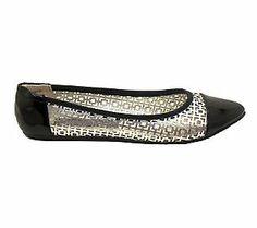 Footzyfolds Kourtney Capped Toe Ballet FlatShoes