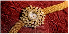 Designer Diamond Watches for Women | Latest Indian Jewellery Designs