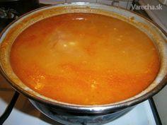 Zasmažená zemiaková polievka (fotorecept)