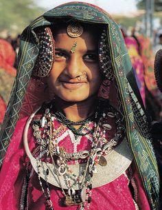 "India   Rabari girl   T.S. Randhawa. ""Kachchh:  The Last Frontier"".  Prakash Books, New Delhi, India.  Page 88"