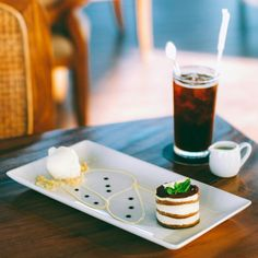 Spoil yourself with our afternoon tea package only IDR 55.000 nett. Choose the selection desert and one cup of coffee/tea from the menu. Valid from 3 PM - 6PM  - Tiramisu with Vanilla ice cream - Ice Americano  #on20makassar | on20makassar.com