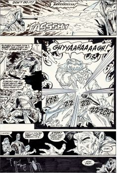 Image of Todd McFarlane The Amazing Spider-Man #313 Page 27 Original Art | Lot #92222 | Heritage Auctions