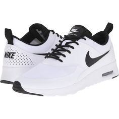 Nike Air Max Thea (White/White/Black) Women's Shoes ($73)