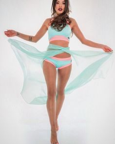Turquoise Dance Skirt