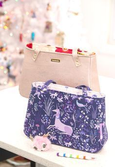 FREE Pattern+Video for the Sew Sweetness Baker Street Bag. This sewing  pattern is fee03952825