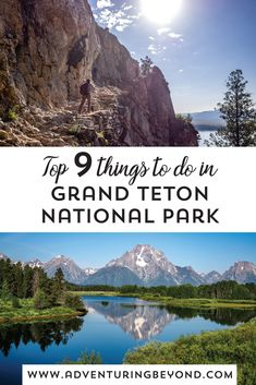 National Parks Usa, Grand Teton National Park, Yellowstone National Park, Yellowstone Vacation, Beautiful Park, Amazing Things, Vacation Spots, Places To Travel, Jackson Hole