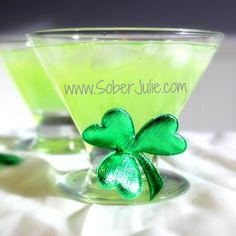 St Patrick's Day Surprise Mocktail