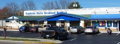 Captain Jims Seafood Buffet Restaurant on the Pigeon Forge Parkway