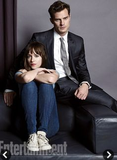 Christian Grey. Jamie Dornan. Fifty shades of grey.